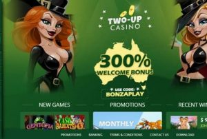 Two Up Casino Login